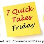 7 Quick Takes Friday (vol.2)