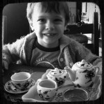 The Perfect Cup of Tea {Mama and Little Man On a Date}