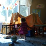 Wordless Wednesday {Blanket Forts on a Rainy Day}