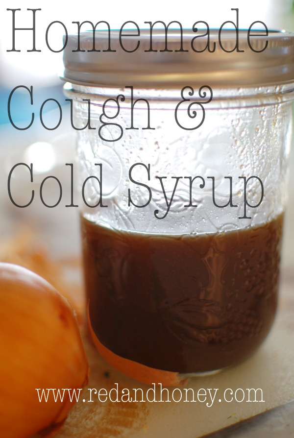Don't spend half the night awake coughing. Instead,  whip up this cough syrup with everyday ingredients that are safe for most of the family!