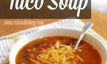 Southwest Taco Soup