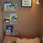 DIY Book Nook (Encouraging Young Book Lovers)