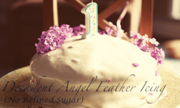Angel Feather Icing (Gluten-Free & Refined-Sugar-Free)