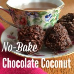 No-Bake Chocolate Coconut Macaroons (Grain-free, Dairy-free, No Refined Sugar)