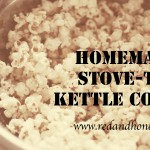 Homemade Stove-Top Kettle Corn