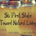 Six First Steps Toward Natural Living