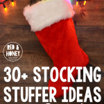 30+ Simple Stocking Stuffers for a Preschooler, Toddler, and Baby