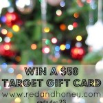 Want to Win a $50 Target Gift Card? Of Course You Do!