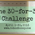 Announcing the 30 for 30 Challenge!
