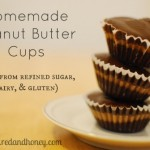 Homemade Peanut Butter Cups (no refined sugars!)