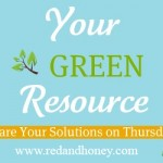 Your Green Resource (featuring an Old Barn Wood Mirror)