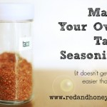 Homemade Taco Seasoning: One of the Easiest Real-Food Substitutions Ever!