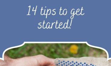 """Pinterest Pin, image is of a two hands holding tomatoes in them. Text Overlay says """"14 Ways to Be an Urban Homesteader"""""""