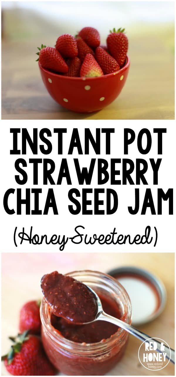 Finally a real food jam that takes like five minutes to make. Perfection!