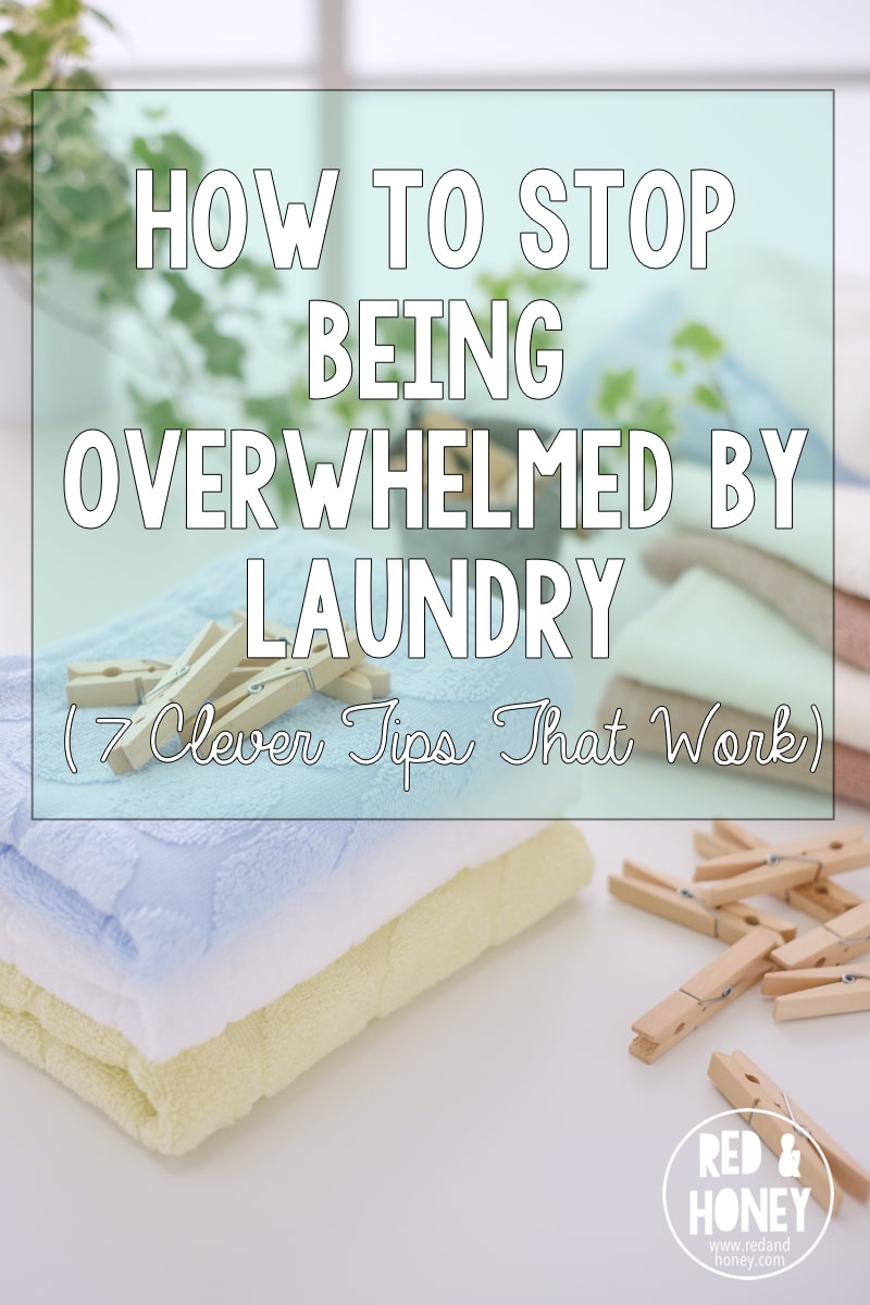 This is not one of those posts that promise you'll never get behind on laundry ever again, nor is it a magical fairy that will come into your house and do it all for you (Um, hello. I wish).  This is simply a post outlining the seven steps I took to reduce the amount of laundry overwhelm I was feeling. Laundry doesn't stress me out anymore, and it's such a relief!!