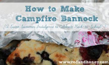 How to Make Campfire Bannock