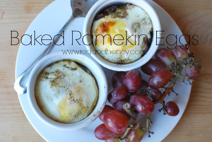 Baked Ramekin Eggs