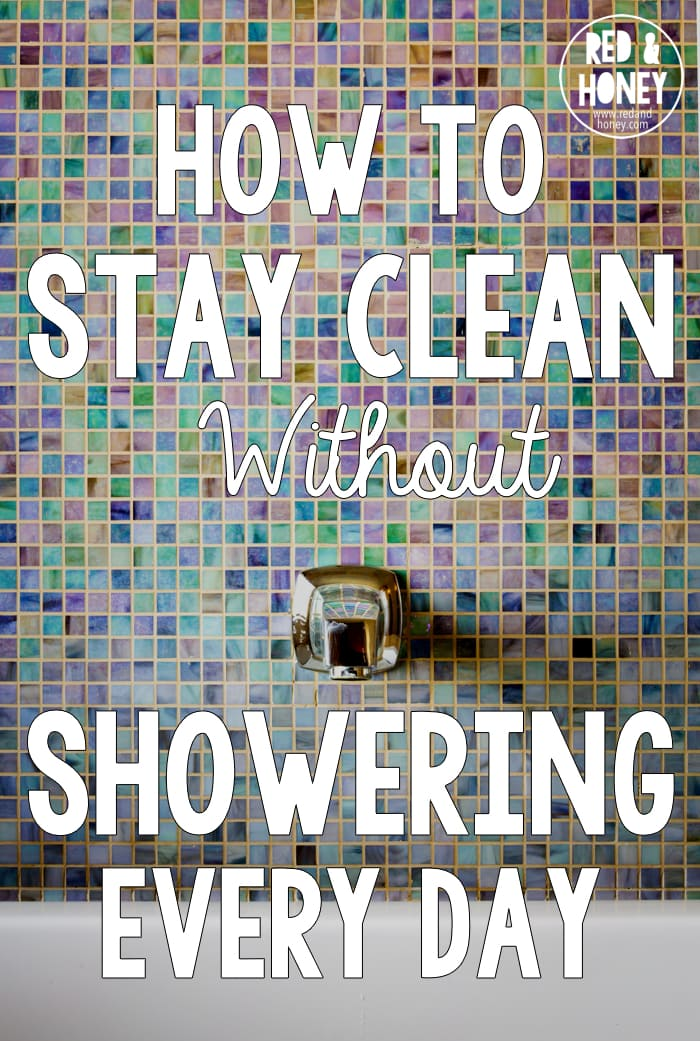 I definitely don't shower every day - in fact doing so dries my skin out. These tips and hacks are perfect for staying fresh and clean between shower days.