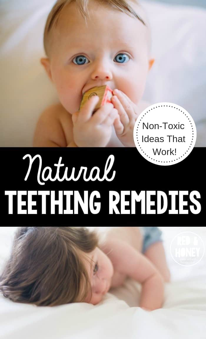 Natural Teething Remedies collage