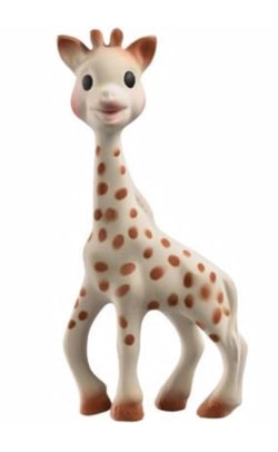 sophie the rubber giraffe teething toy
