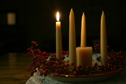 Advent wreath: family Advent activities
