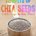 Chia seeds are awesome! This is a great list of recipes that use them. Finally can use up the package I have hanging out in my cupboards. :)