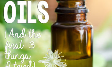 50 Uses for Essential Oils (& the First 3 Things I Tried)
