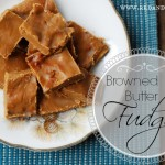 Decadent Browned Butter Fudge