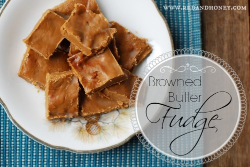 Browned Butter Fudge
