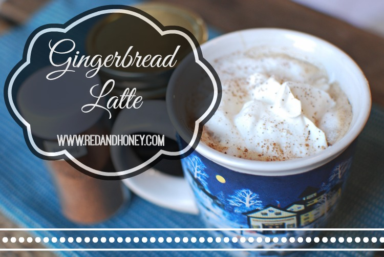 You don't need to compromise your health in order to indulge in a rich and decadent gingerbread latté. Make it yourself at home without the HFCS and additives that come with the coffee-shop variety. The homemade version tastes way better, too!