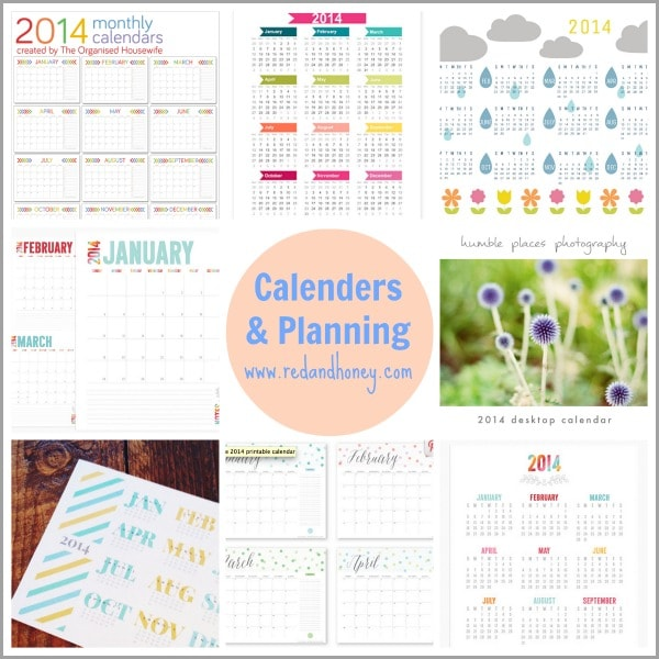 100 Fantastic Free Printables (Everything from Calendars ...