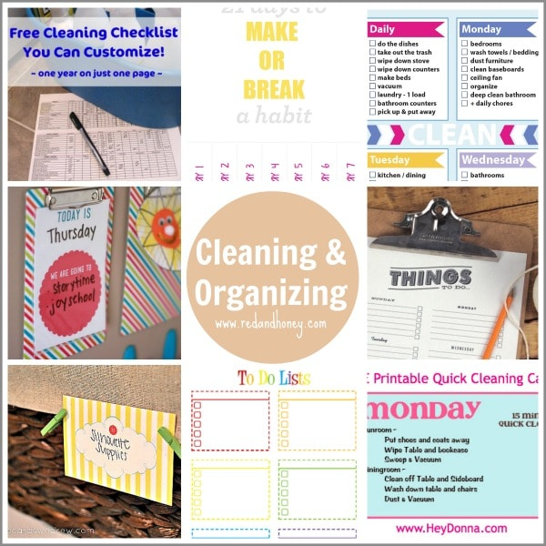 CleaningOrganizing