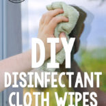 All of the convenience of the disposable store-bought chemical-laden version, only without the price tag, the negative environmental impact, and the nasty toxic chemicals to wipe all around your home.