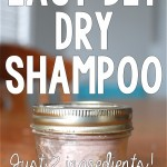 DIY All-Natural Dry Shampoo (2 Ingredients!)