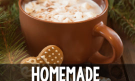 Hot chocolate from a mix is full of sketchy ingredients, so I make my own. This recipe is super easy and tastes so decadent!