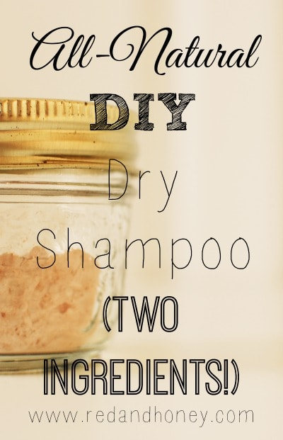 This 2 ingredient all-natural shampoo looks really easy to make. I could totally do this!!