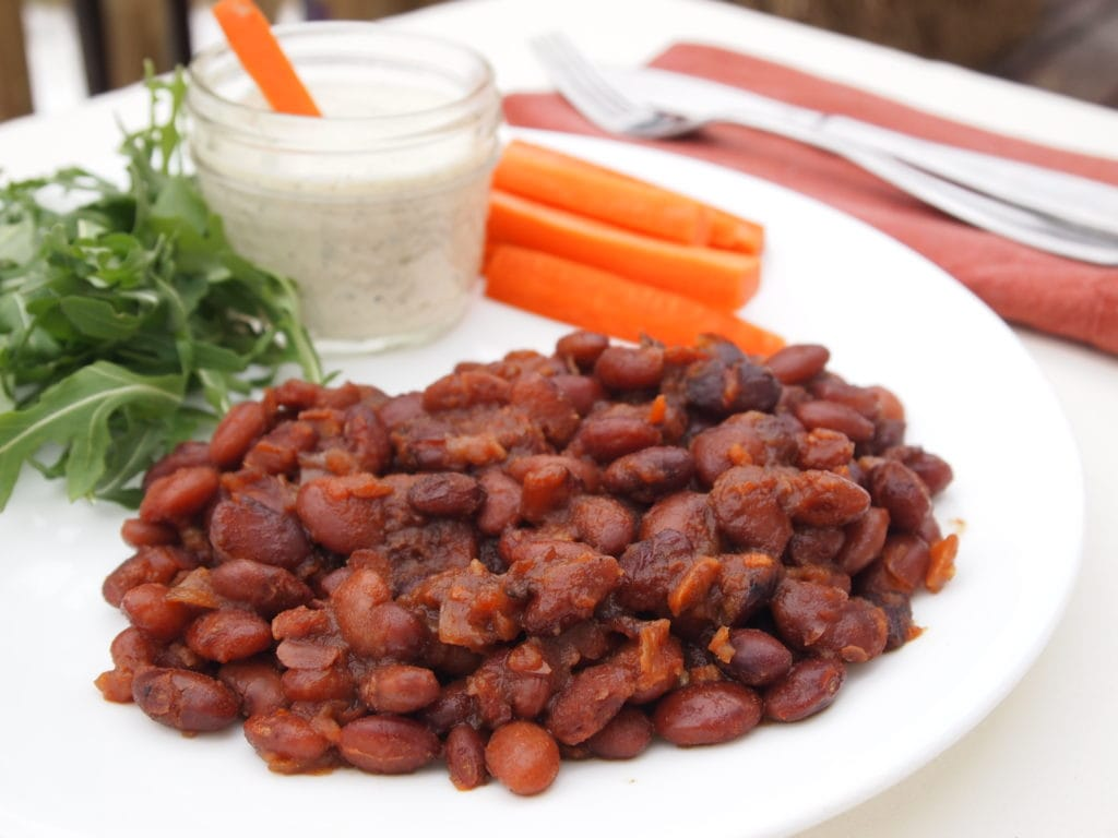 Maple Baked Beans - Red and Honey