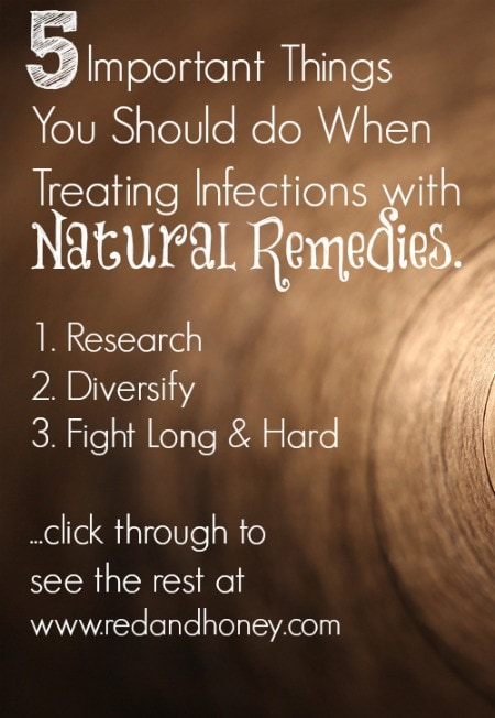 Avoid antibiotics and treat infections naturally instead
