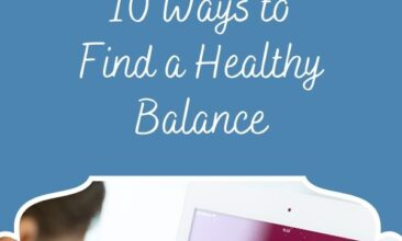 """Pinterest pin, image is of a young boy holding an ipad. Text overlay says, """"Screen Time For Kids: Tips to Finding A Healthy Balance, A Realistic Approach!"""""""
