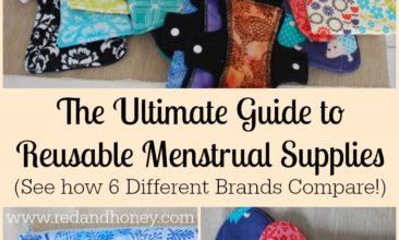 The Ultimate Guide to Reusable Menstrual Supplies (6 Different Brands Compared + Win Your Own Stash Worth Over $300!)