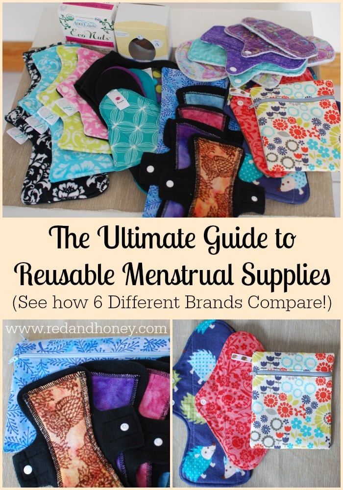 The benefits of cloth pads + menstrual cups are undeniable. They are more frugal, more comfortable, way cuter, and totally healthier!