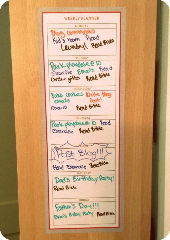 Weekly Goals 2