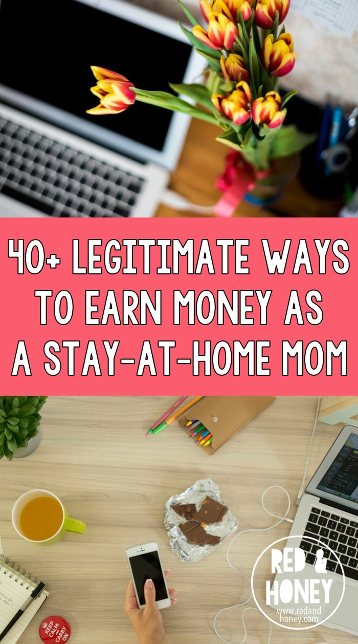 Legitimate Ways To Earn Money As A StayatHomeMom Red And - 10 simple ways can make money onlinecoach someone remotely