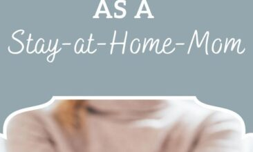 """Pinterest pin, image is of a woman holding fanned out money. Text overlay says, """"Legitimate Ways to Earn Money as a Stay-At-Home-Mom: 40+ Ways!"""""""