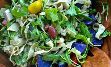 Late-Summer Loaded Fresh Veggie Salad