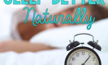 5 Ways to Sleep Better Naturally