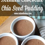 Blended Chocolate Chia Seed Pudding