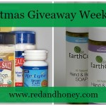 Win a Redmond Products Gift Set – earthpaste, salt, clay, soap, and more! (Christmas Giveaway Week 2014)