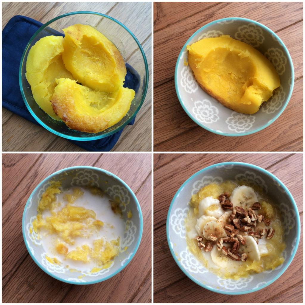 Warm and Comforting Acorn Squash Porridge