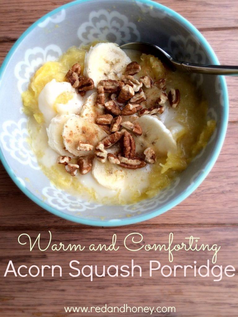 Warm and Comforting Acorn Squash Porridge 3